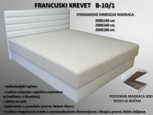 FRANCUSKI KREVET   B-10/1